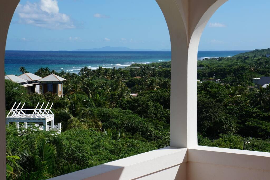 Upstairs Balcony View