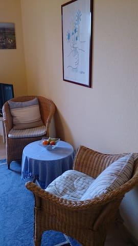 1 Zimmer Ferienappartement mit schöner Terrasse - Wasserburg am Bodensee - Appartement