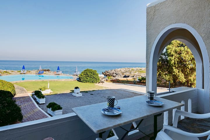 Astonishing sunset and sea view 2 - Stavros - Apartment