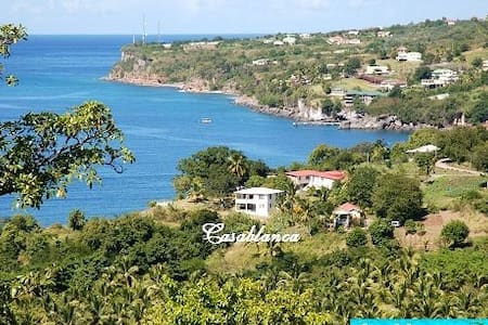 Dominica, oceanview house W.Coast - Salisbury - Hus