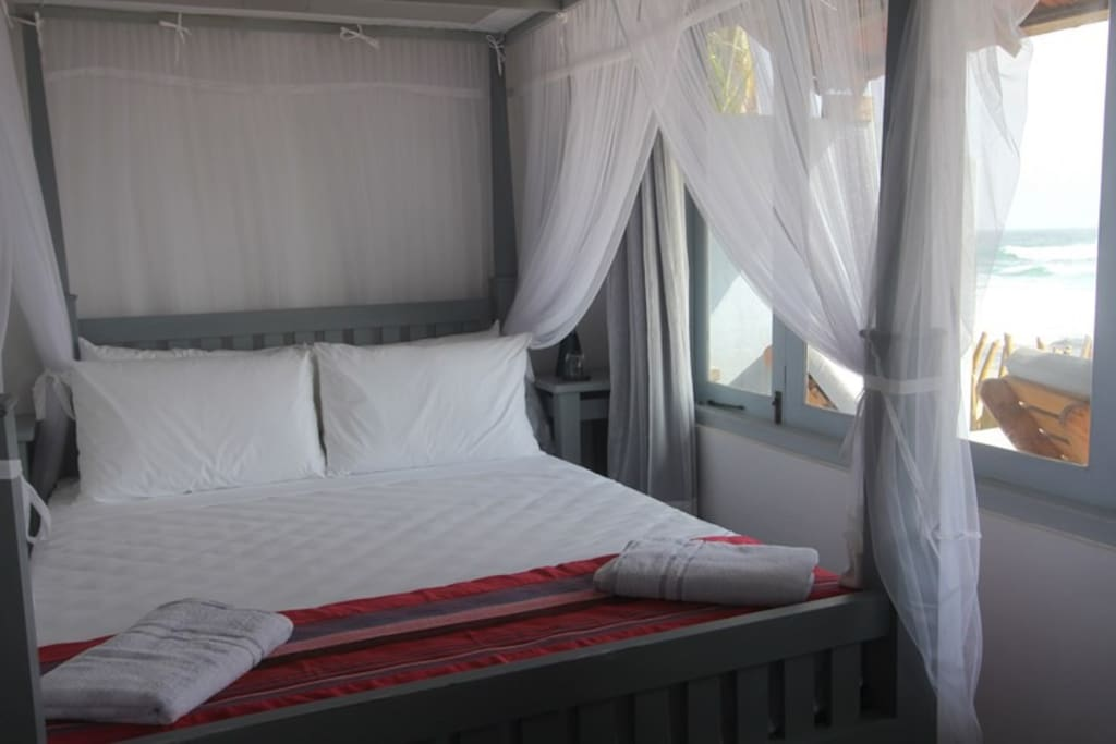 EKA's beautiful beach side Room 1