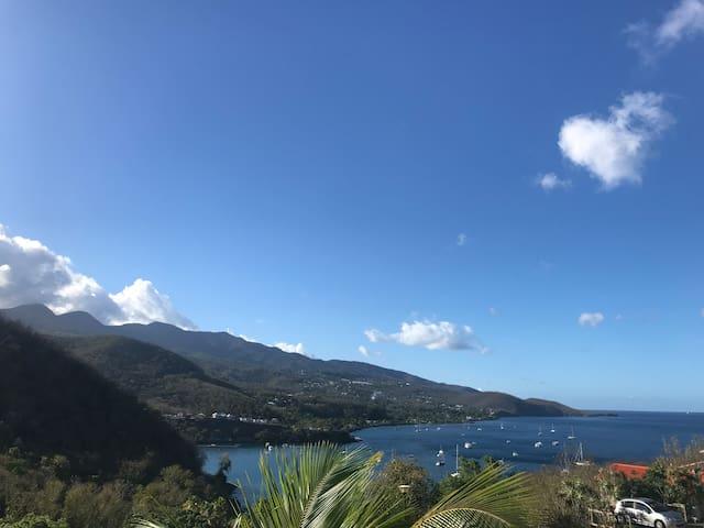 Magnifique maison vue sur la mer des Caraïbes (2)