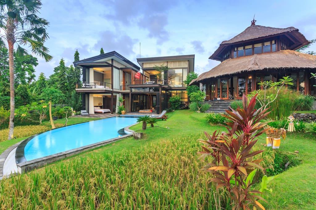 Omah Sabin 3 Bedroom villa at Canggu