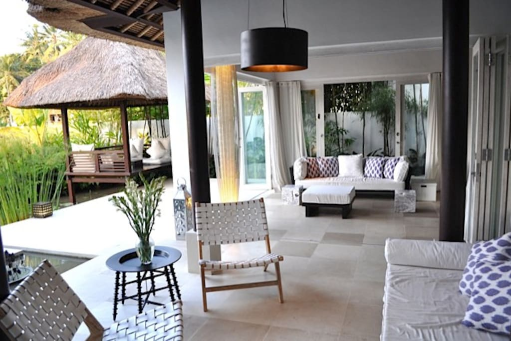 Stylish outdoor and indoor living