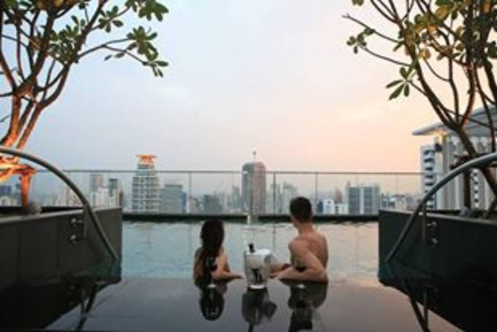 Swimming Pool Panoramic view!!