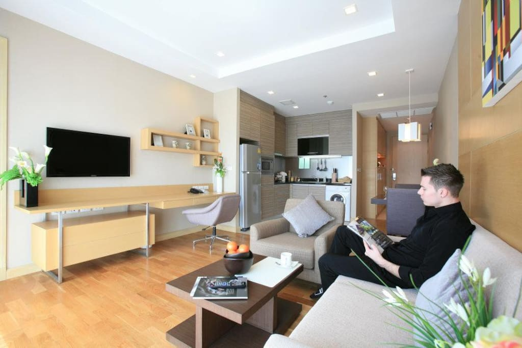 LED Tv's, Fully equipped kitchenette, Spacious, modern design and panoramic view