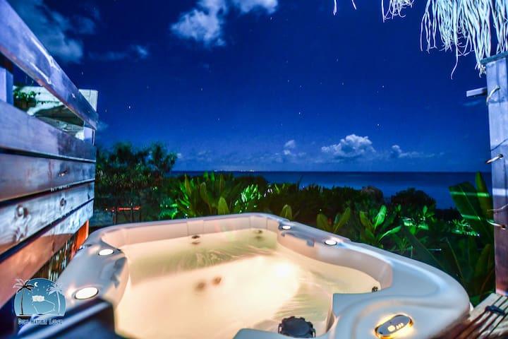 BWAFLO Lodge dans maison d'hôte plage jacuzzi
