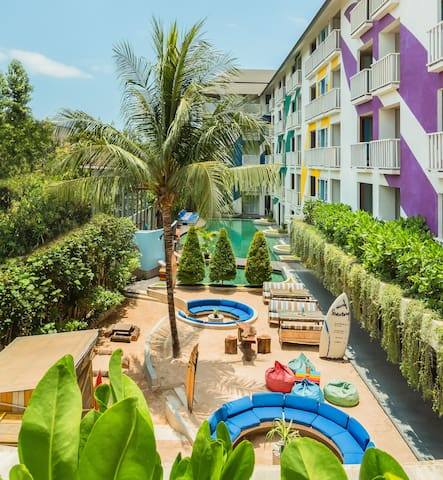 Bliss Surfer Hotel Legian #1 Room Only