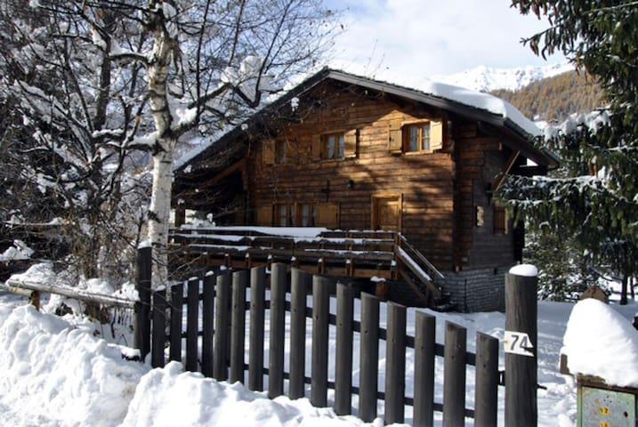 Chalet di montagna con giardino - Periasc - Hus