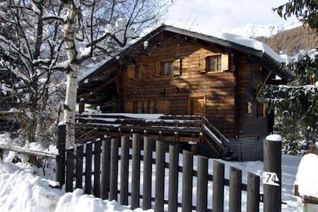 Chalet di montagna con giardino - Periasc - Rumah