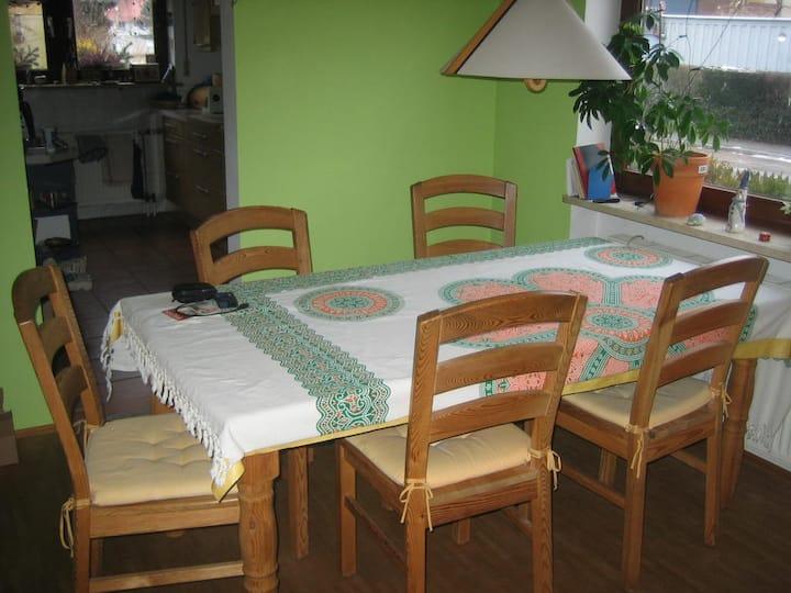 gemütliches Doppelzimmer im Einfamilienhaus