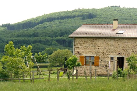 """Natural"" farm in South Burgundy! - Buffières - 自然小屋"