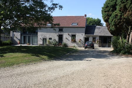 Montigny-Jean-Bapt = 45 €/ 1 person - Fernelmont - Oda + Kahvaltı