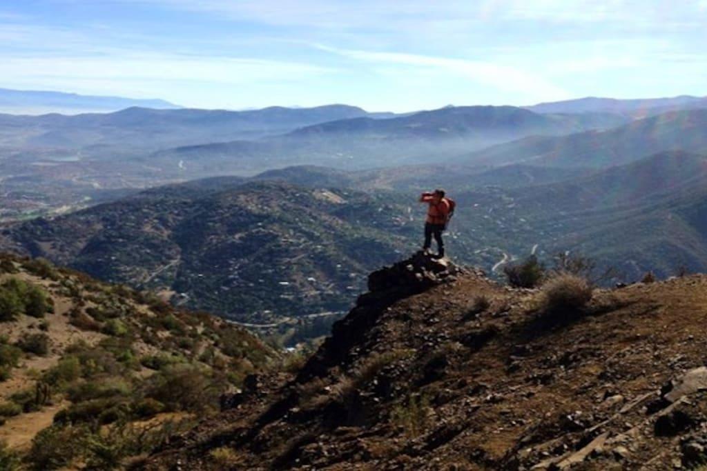 Amazing Santiago Valley View
