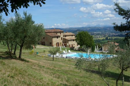 Vacanza natura relax cibo genuino - Lugnano - Rumah