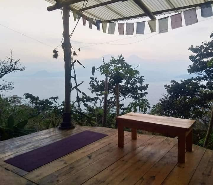 Eco wood cabin with a view, Pasajcap mountain