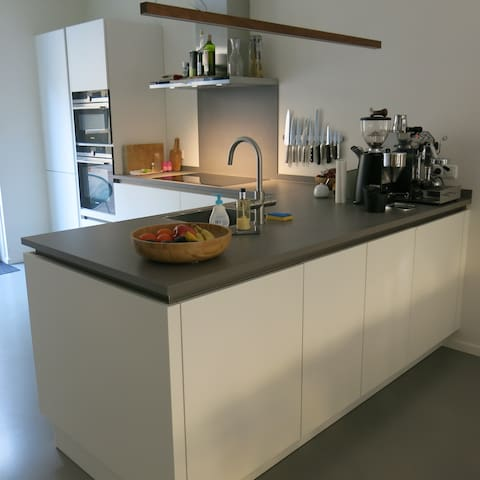 Our well equipped kitchen