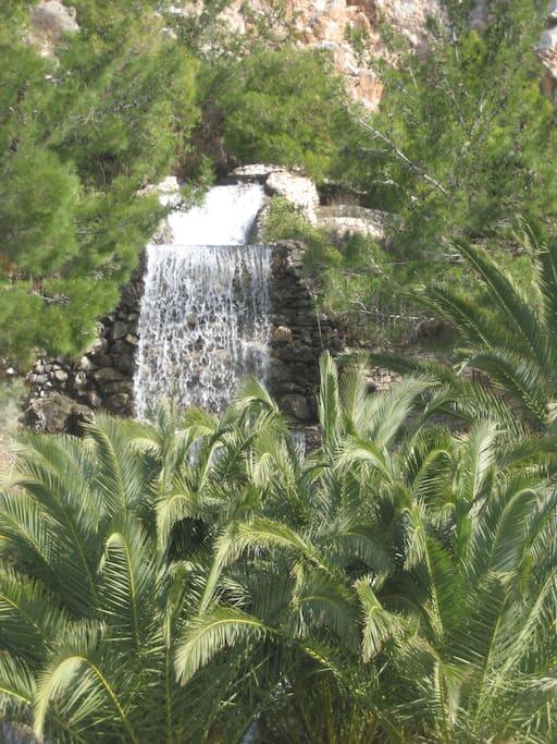 Waterfalls of Loutraki
