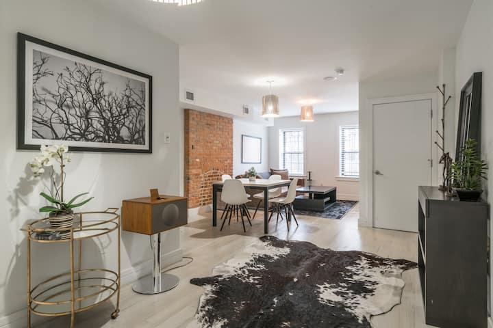 Brownstone Garden Floor Apartment