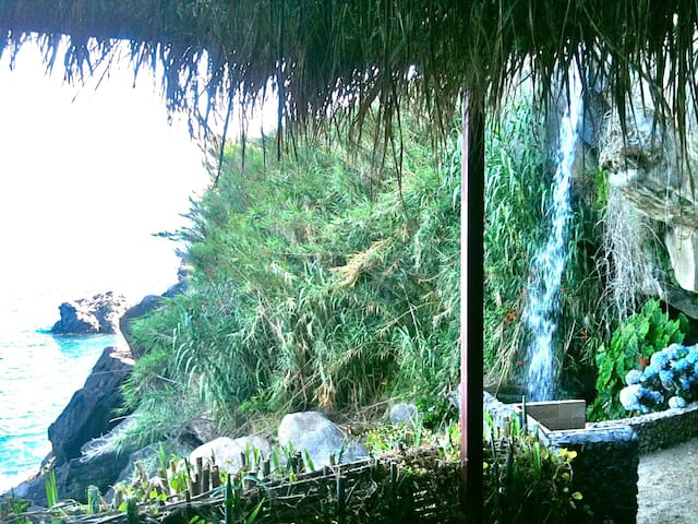 ONLY 2 MTRS FROM BEACH -WATERFALL - Agua De Alto - Huis
