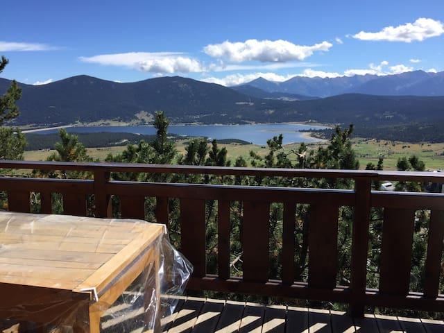 Joli chalet avec vue sur le lac - Les Angles - Chalé