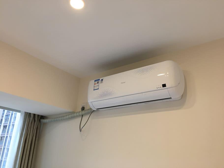 新装海尔空调,效果好,很舒适