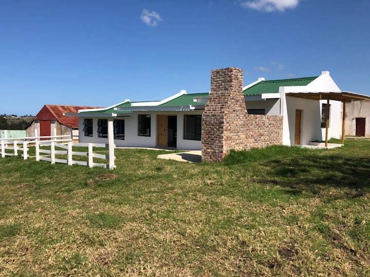Converted farm stables on the iconic Map of Africa