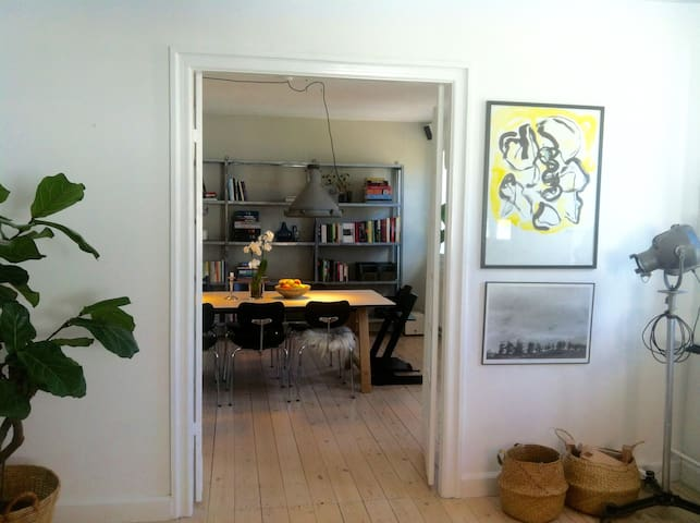Perfect for families - 150m2 townhouse apartment - Østerbro  - Wohnung