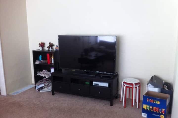 Cheap Living Room for Short Stay