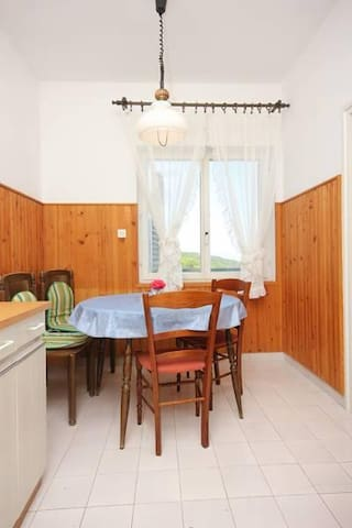 Two bedroom apartment with terrace and sea view Brseč, Opatija (A-7796-b) - Brseč - Apartamento