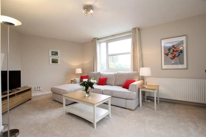 Newly refurbished luxury apartment near station
