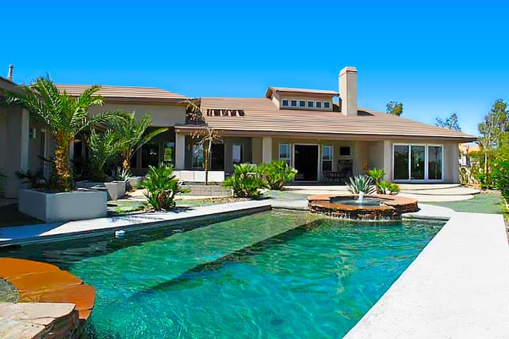 Licensed Luxury estate with Amazing Strip Views!