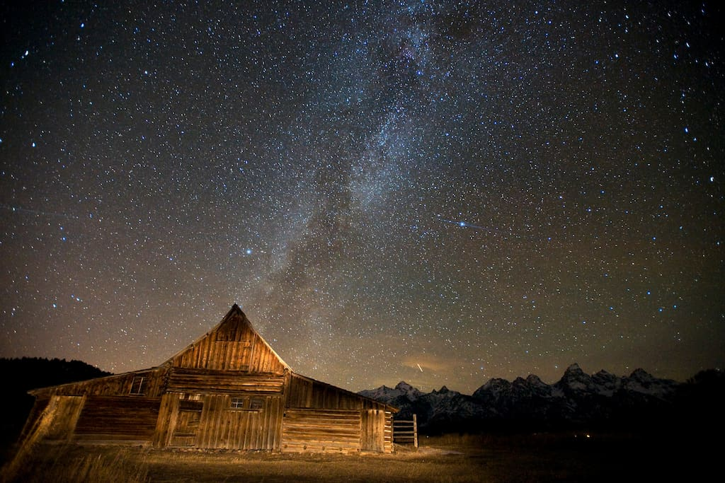The Moulton barn on Mormon Row might be the most photographed barn in the world. (I did not take this photo.)