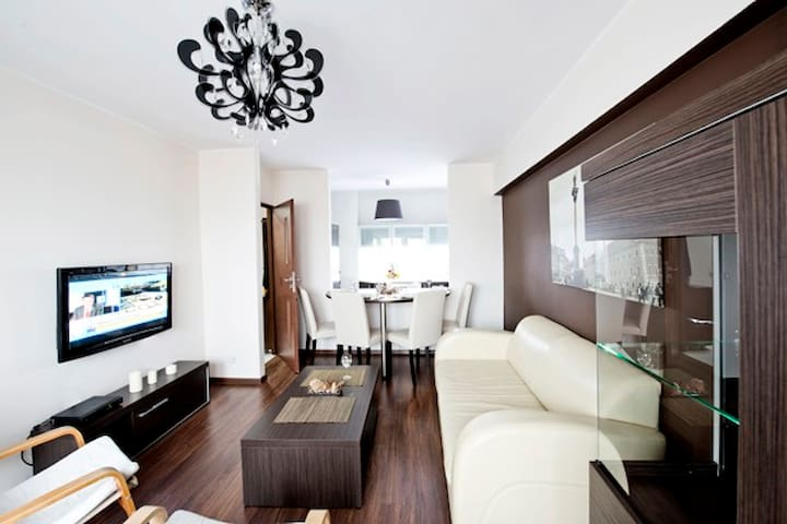 Spacious/comfy/elegant apartment. - Varsòvia - Pis