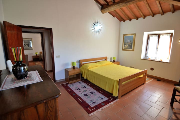 Rural Big Apt in the real Farmhouse - Colle di Val d'Elsa - Lejlighed