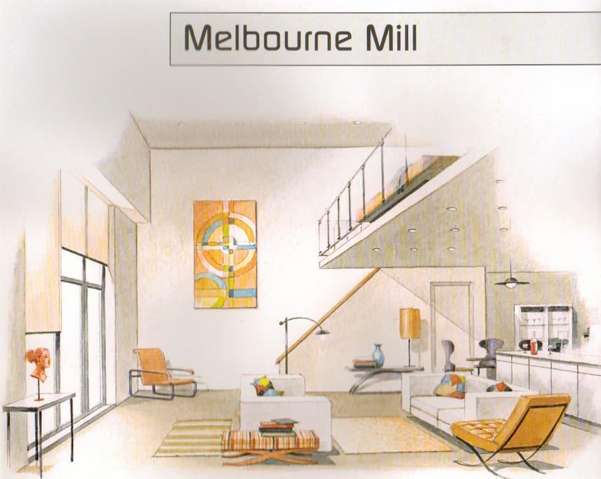 Architectural Study: No1 Interior