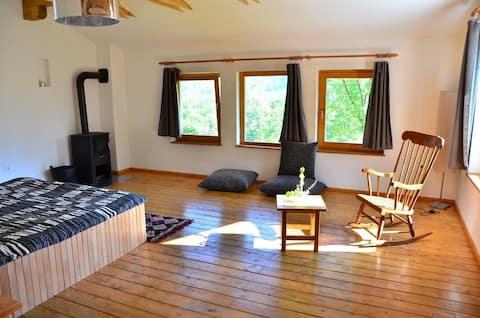 Eine schöne authentische Lodge für 2-3 Personen