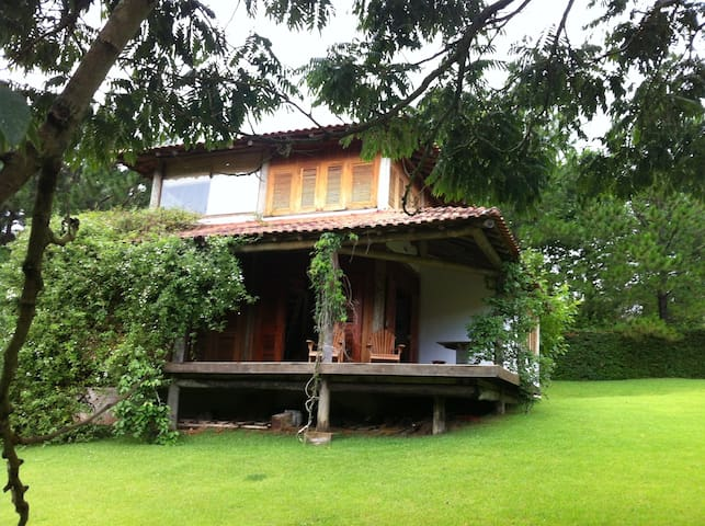 Charming cottage with a great view! - São Bento do Sapucaí