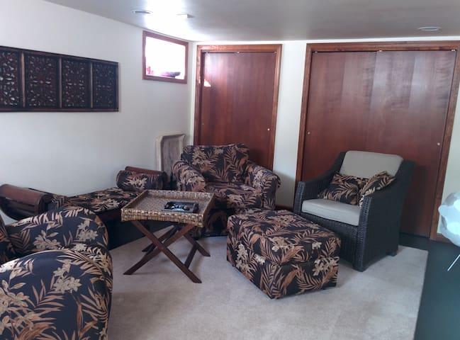 Comfortable spacious basement room - 厄巴納(Urbana) - 獨棟
