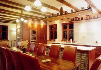 All-seasons guest house BBQ Squash - House
