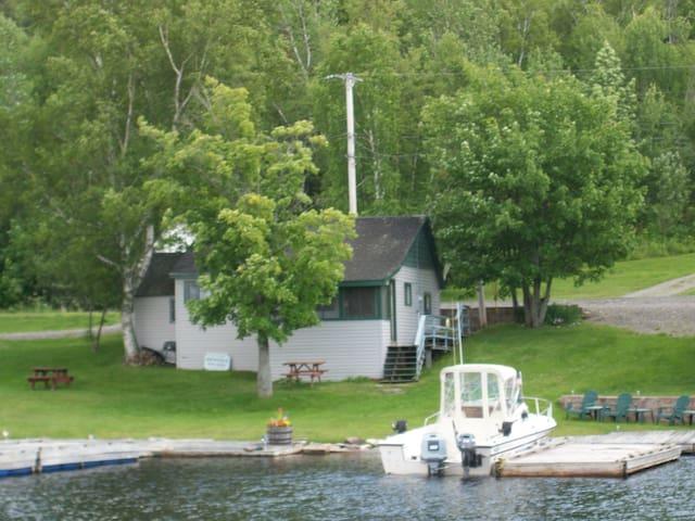 Landing 1 Moose River Moosehead Lake Rockwood ME - Rockwood