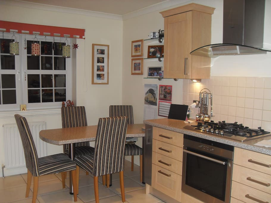 Cosy dining kitchen