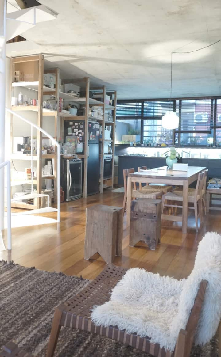 design house + rooftop terrace w/pool 2BR 2 BTH