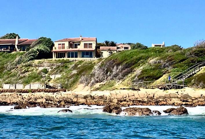 Beautiful home on waters edge BnB