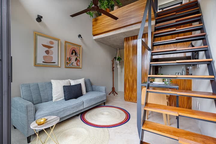 Unique design loft 1802 near Isla Mujeres ferry