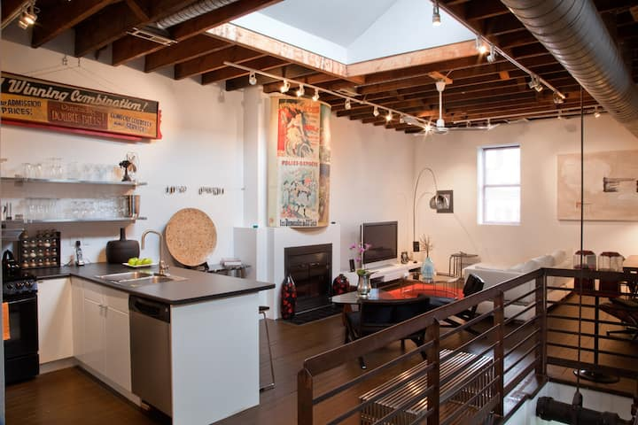 A spectacular and authentic loft!
