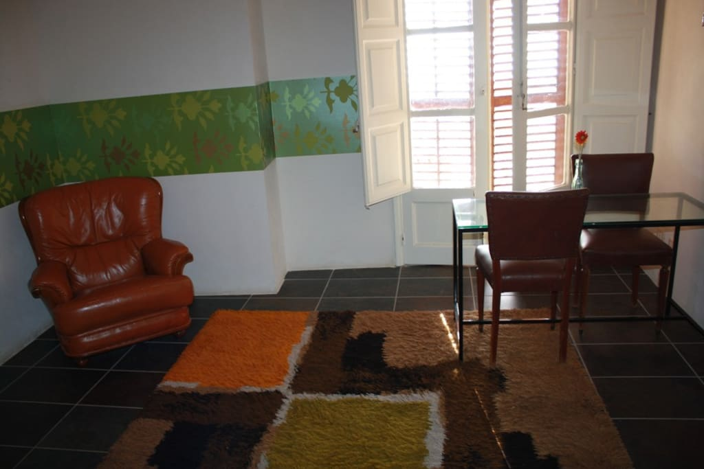Family room in the historic center