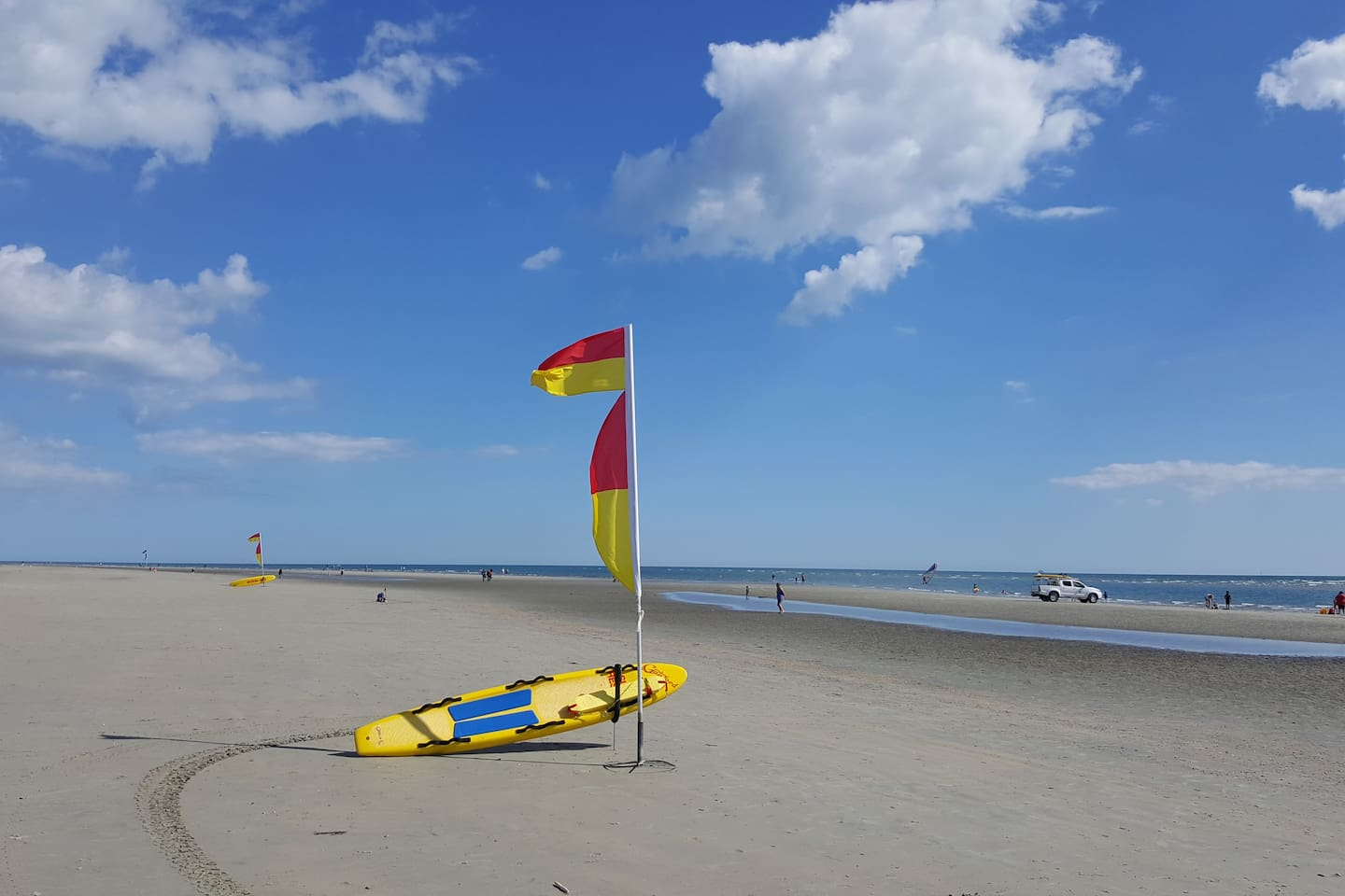 West Wittering beach is nearby