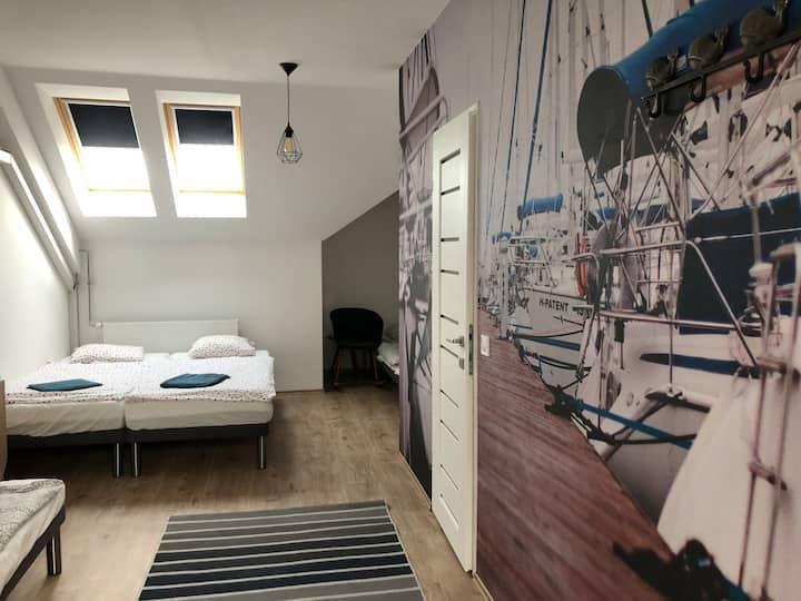 Patent Bed&Bar Badacsony. Szörf szoba