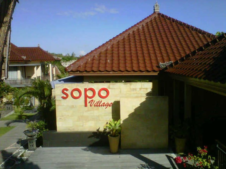welcome to sopo village